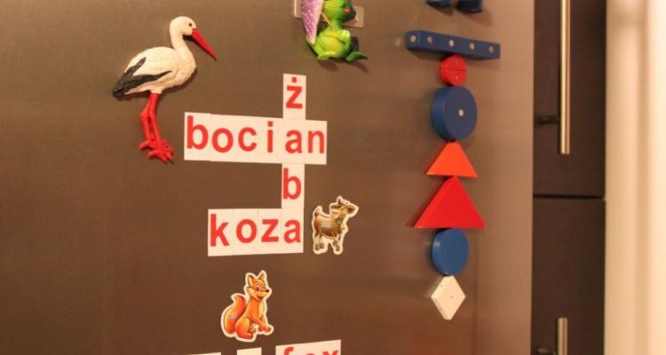 alfabet magnetyczny i literki dla dzieci